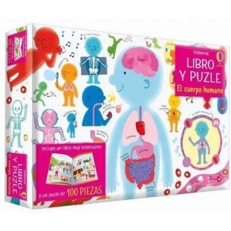 EL CUERPO HUMANO (libro y puzle)