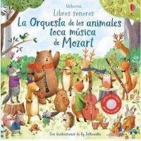 LA ORQUESTA DE LOS ANIMALES TOCA MÚSICA DE MOZART