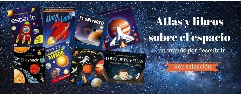 Atlas y libros sobre el espacio