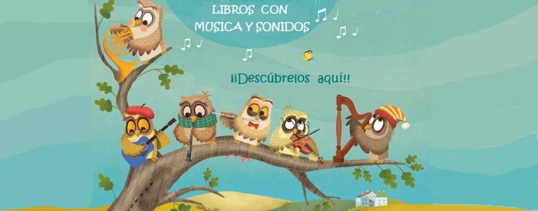 Libros con música y sonidos para niños